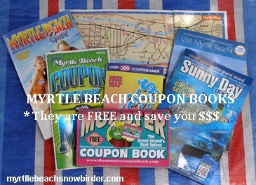 Free Myrtle Beach Coupon Books