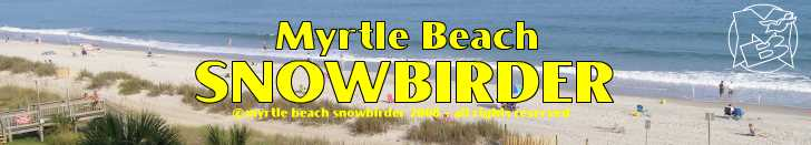 Things to see and do on vacation in the Myrtle Beach, North Myrtle Beach, Grand Strand areas